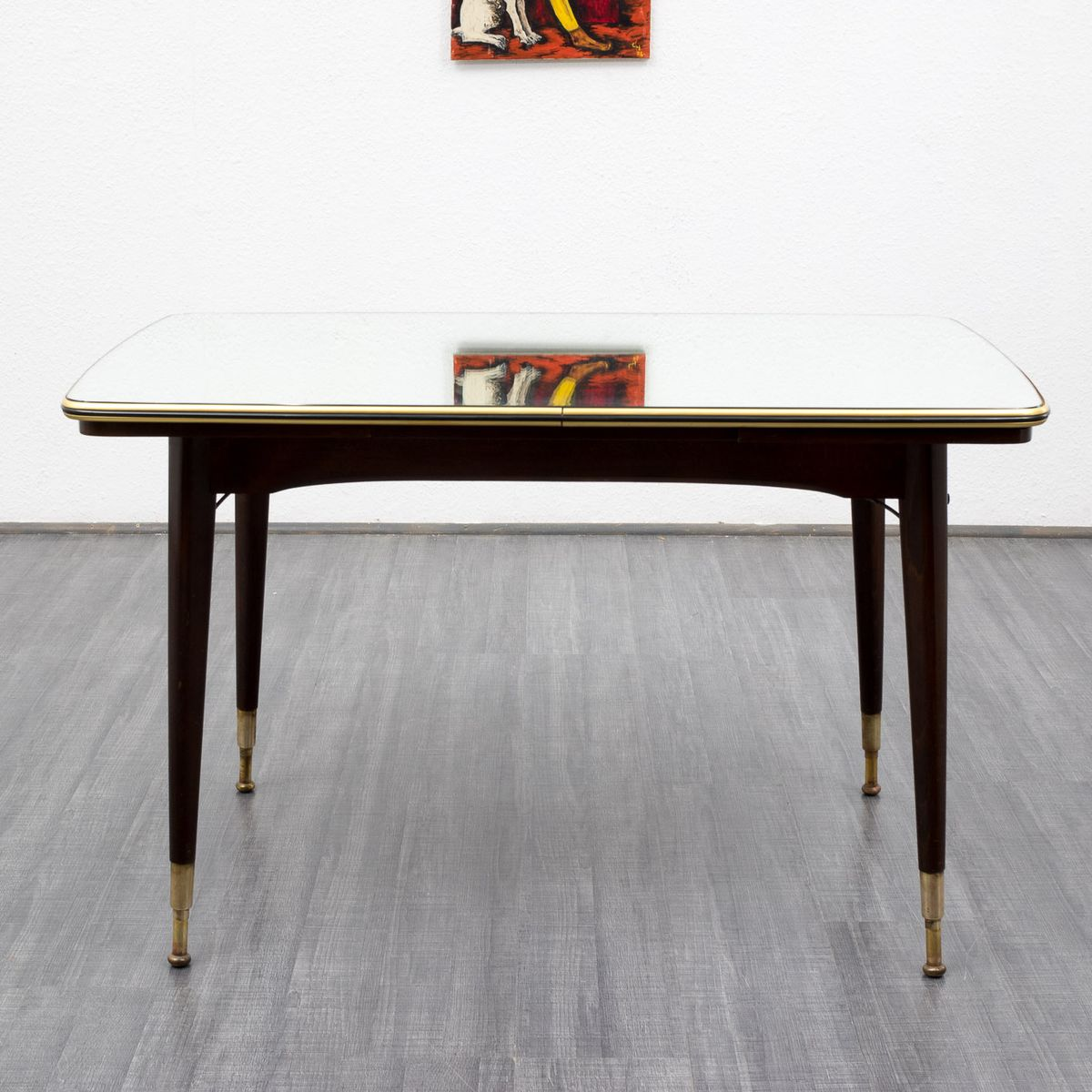 Mirrored Coffee Table Sale: Vintage Coffee Table With Mirrored Surface, 1950s For Sale