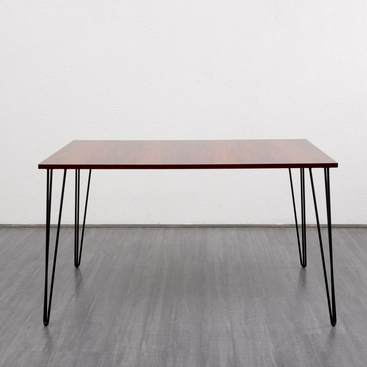 Rosewood Dining Table With Metal Hairpin Legs 1960s For