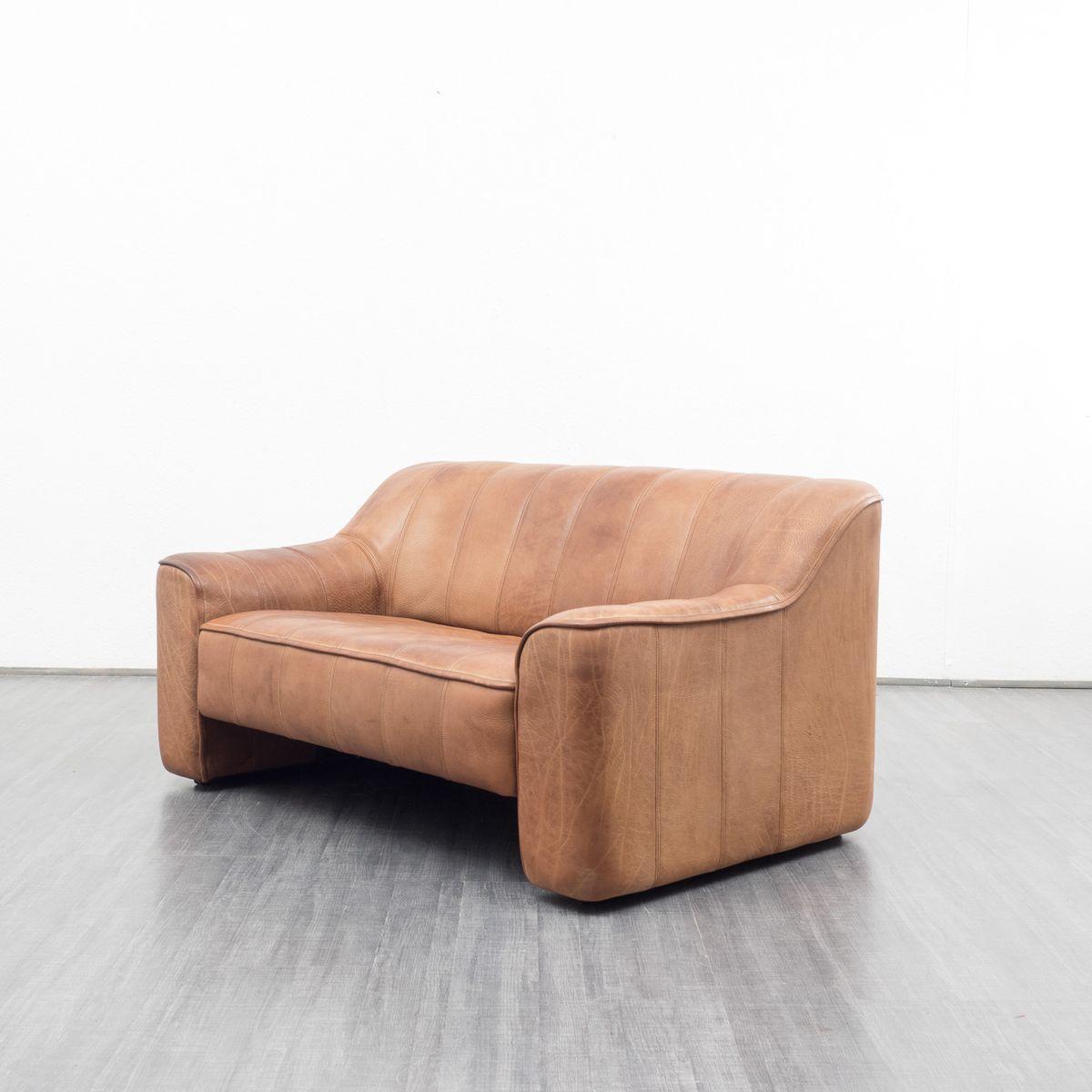 braune ds 44 leder couch von de sede 1970er bei pamono kaufen. Black Bedroom Furniture Sets. Home Design Ideas