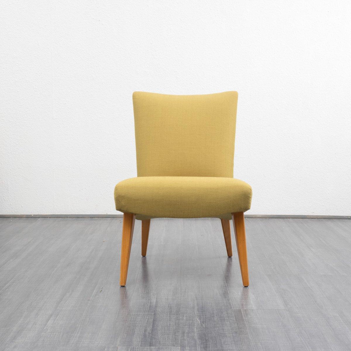 Chaise d 39 appoint en h tre 1950s en vente sur pamono for Chaise d appoint