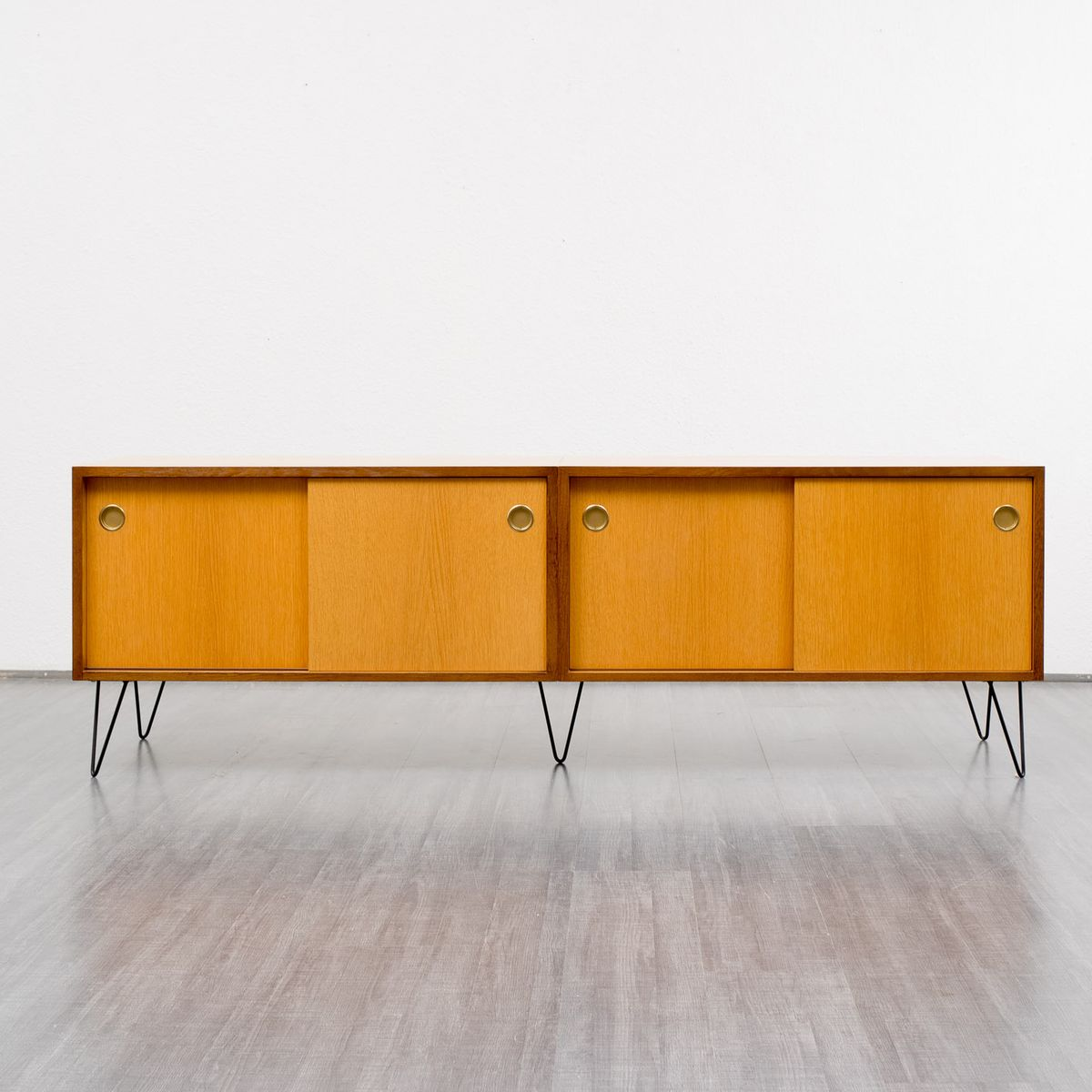 Mid century oak sideboard for sale at pamono - Sideboard mid century ...
