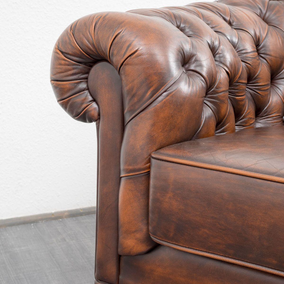 vintage sofa leder eBay