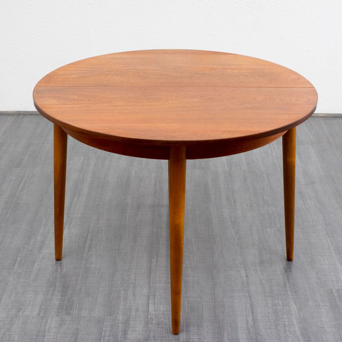 1960s Legs Bing images : vintage round teak dining table 1960s 7 from www.bingapis.com size 1200 x 1200 jpeg 136kB