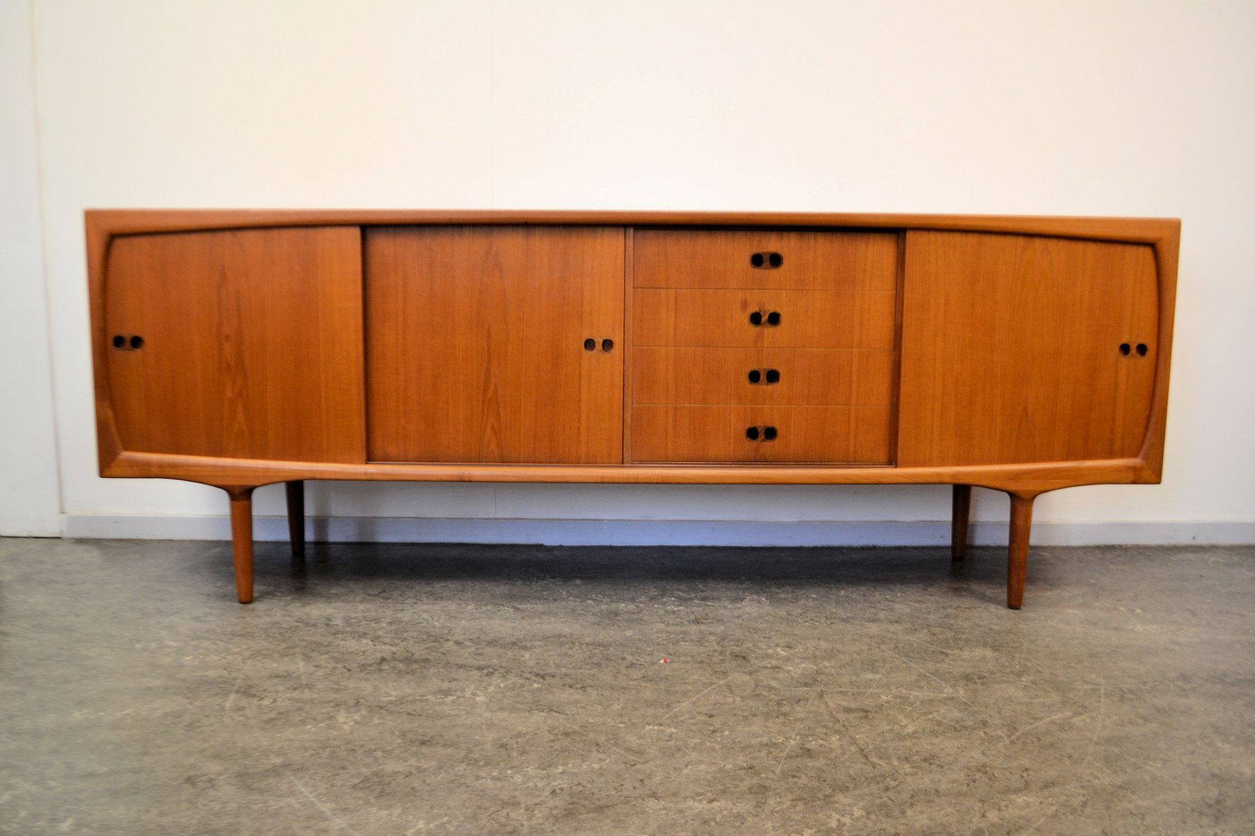 mid century modern danish sideboard 1960s for sale at pamono. Black Bedroom Furniture Sets. Home Design Ideas