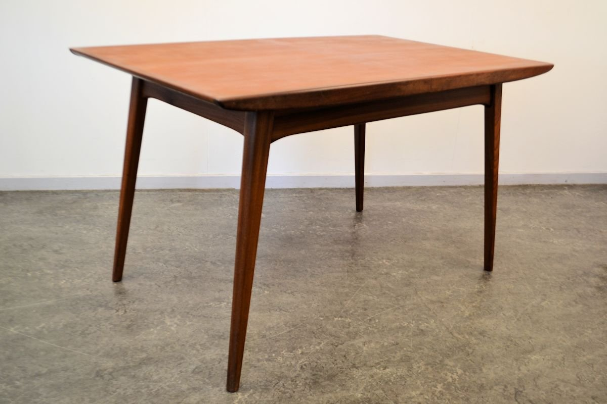 Teak Dining Table By Louis Van Teeffelen For W B 1950s For Sale At Pamono