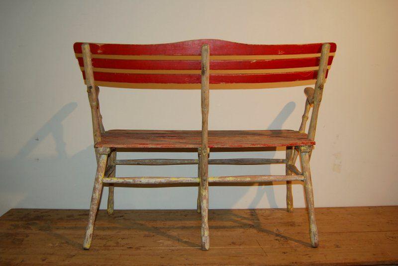 vintage gartenbank bei pamono kaufen. Black Bedroom Furniture Sets. Home Design Ideas
