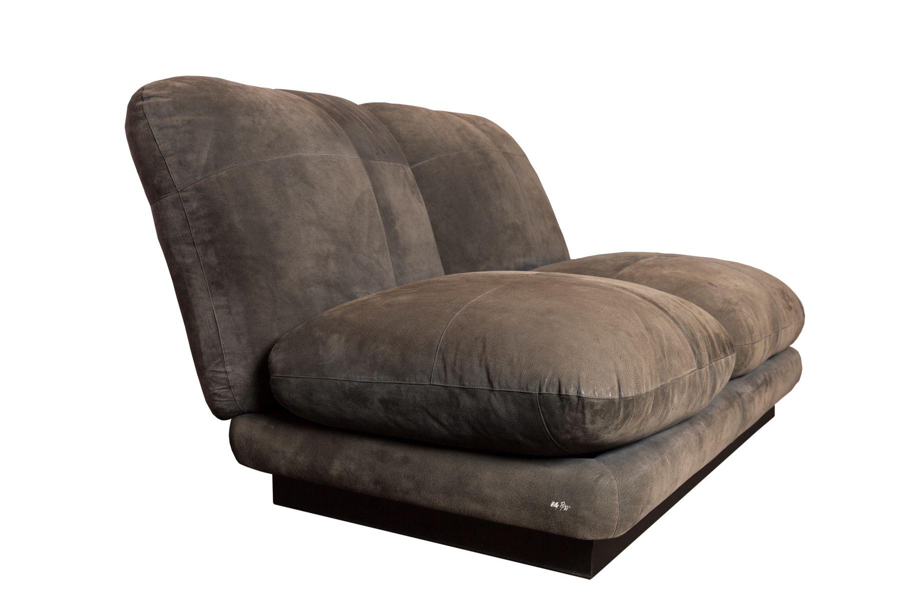 vintage 2 sitzer sofa von willy rizzo bei pamono kaufen. Black Bedroom Furniture Sets. Home Design Ideas