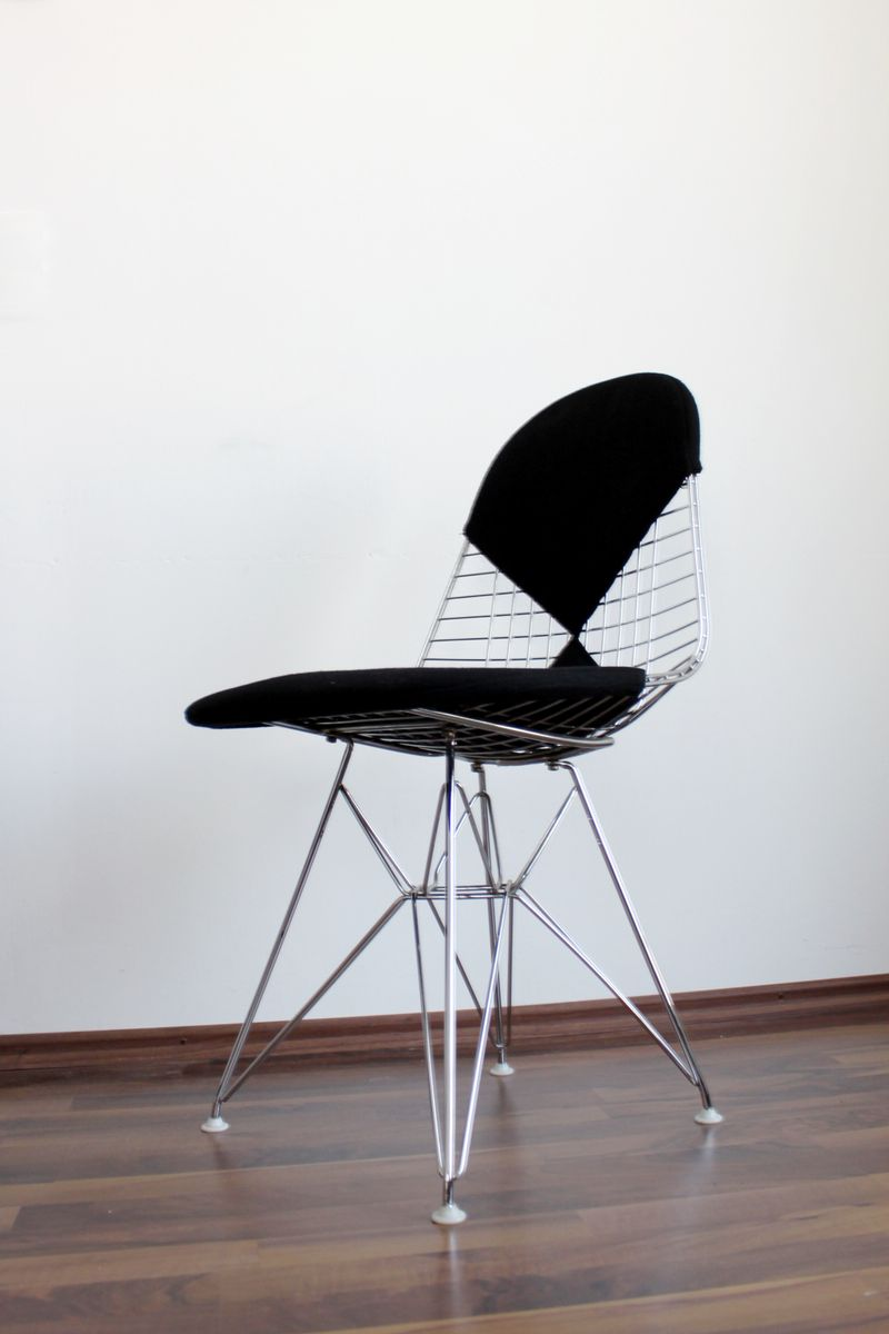 dkr2 bikini wire chair by ray and charles eames for vitra for sale at pamono. Black Bedroom Furniture Sets. Home Design Ideas