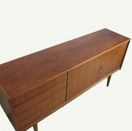skandinavisches sideboard von musterring 1950er bei. Black Bedroom Furniture Sets. Home Design Ideas