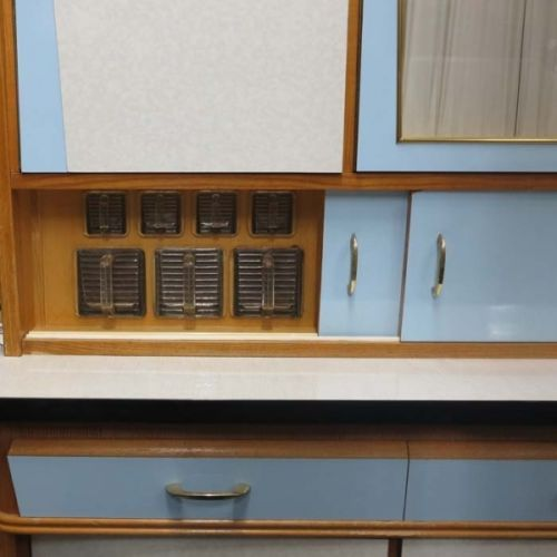 Vintage kitchen cabinet 1950s for sale at pamono for 1950 kitchen cabinets for sale