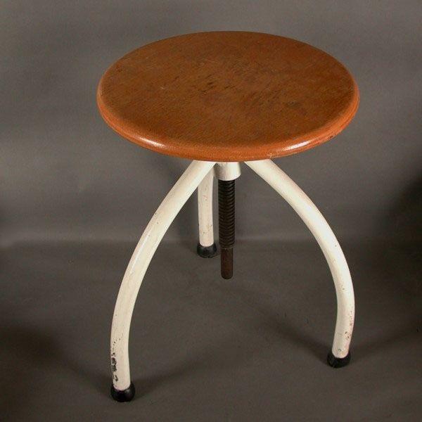 bauhaus drehhocker von margarete sch tte lihotzky f r grumbach frankfurt 1929 bei pamono kaufen. Black Bedroom Furniture Sets. Home Design Ideas