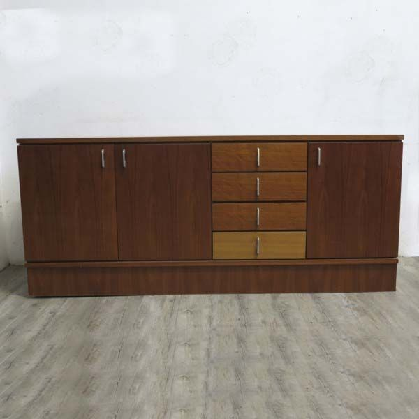 skandinavisches vintage sideboard 1960er bei pamono kaufen. Black Bedroom Furniture Sets. Home Design Ideas