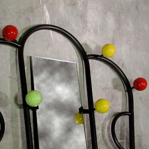 porte manteau vintage avec miroir 1950s en vente sur pamono. Black Bedroom Furniture Sets. Home Design Ideas