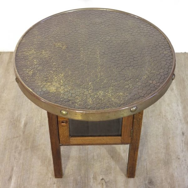 Art deco coffee table with inbuilt showcase 1930s for for Showcase coffee table