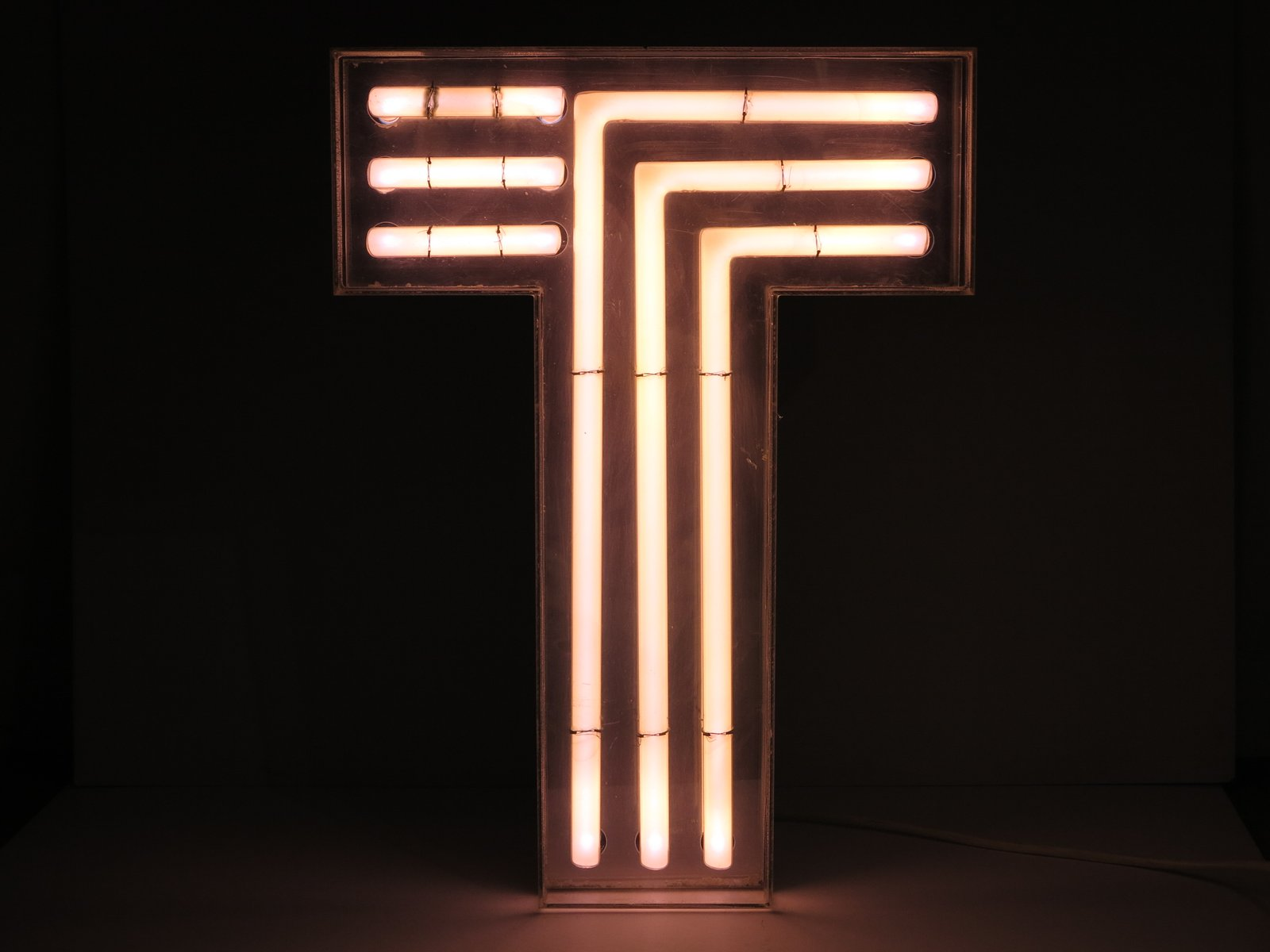 Decorative Signs For Your Home Vintage Neon Decorative Letter T 1970s For Sale At Pamono