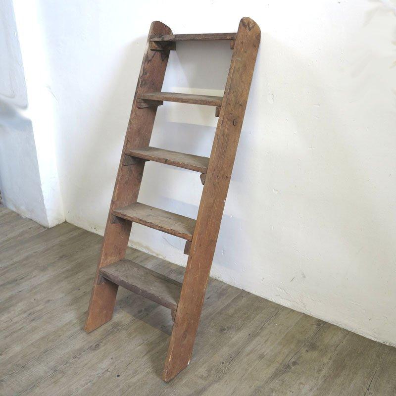 Echelle d corative en bois 1940s en vente sur pamono for Echelle decorative bois