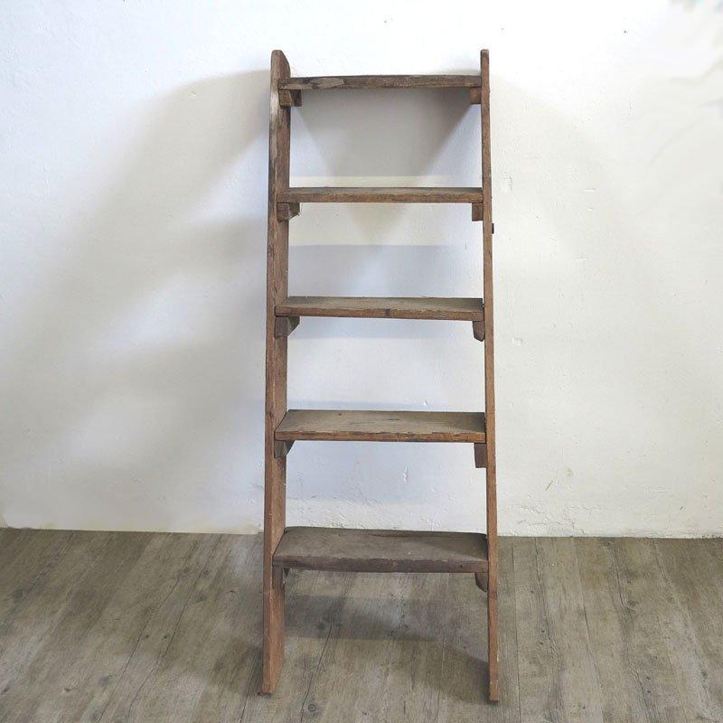 echelle d corative en bois 1940s en vente sur pamono. Black Bedroom Furniture Sets. Home Design Ideas
