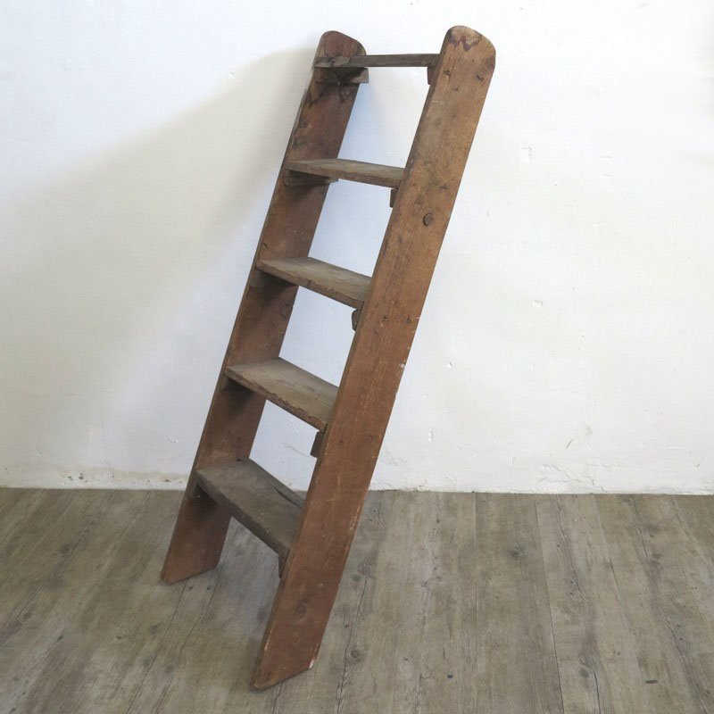 Decorative Wooden Ladder, 1940s For Sale At Pamono