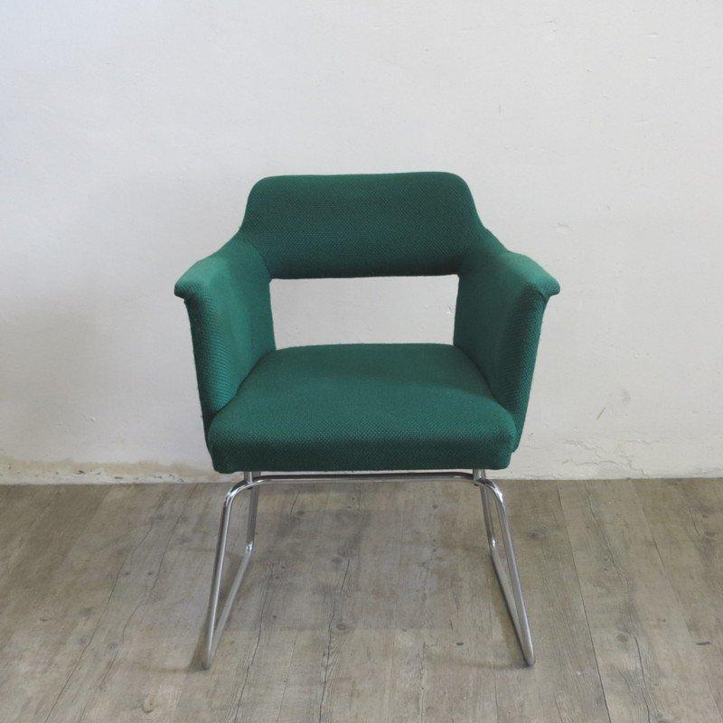 Vintage stahlrohr stuhl 1950er bei pamono kaufen for Stuhl stahlrohr