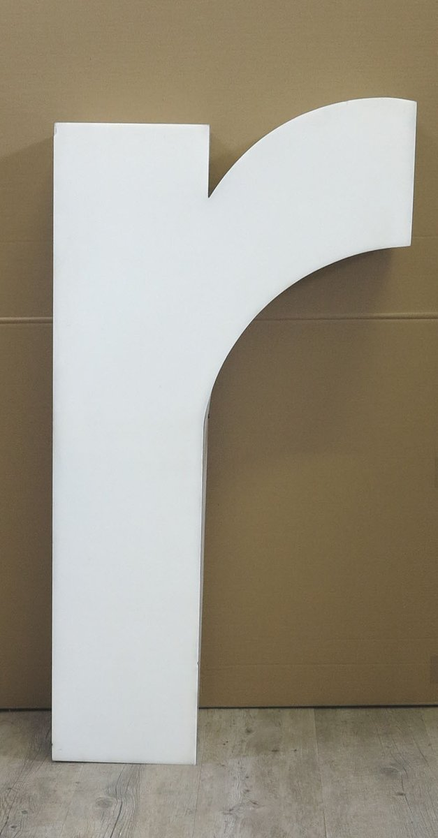 Large Vintage Wall Decor : Large vintage letter r wall decor s for sale at pamono