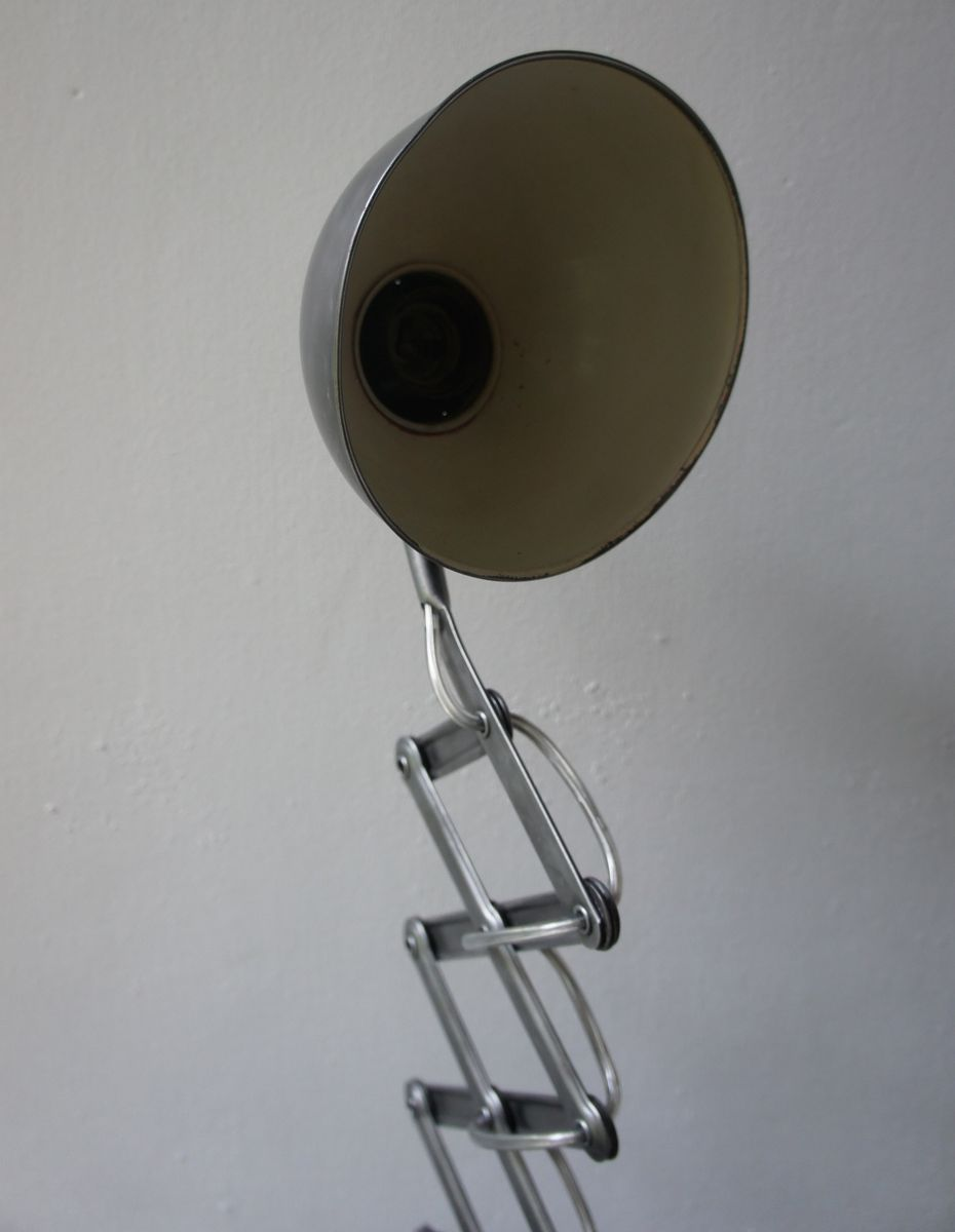 Scissor Lamp By Christian Dell For Kaiser Idell 1930s For