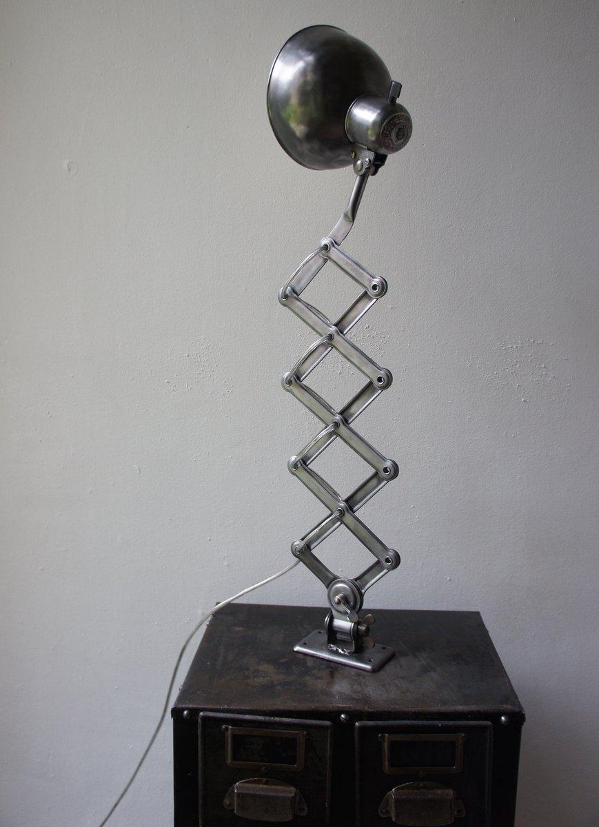 Scissor Lamp By Christian Dell For Kaiser Idell 1930s For