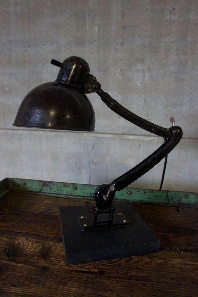 lampe de bureau mod le 6716 de kaiser idell 1940s en. Black Bedroom Furniture Sets. Home Design Ideas