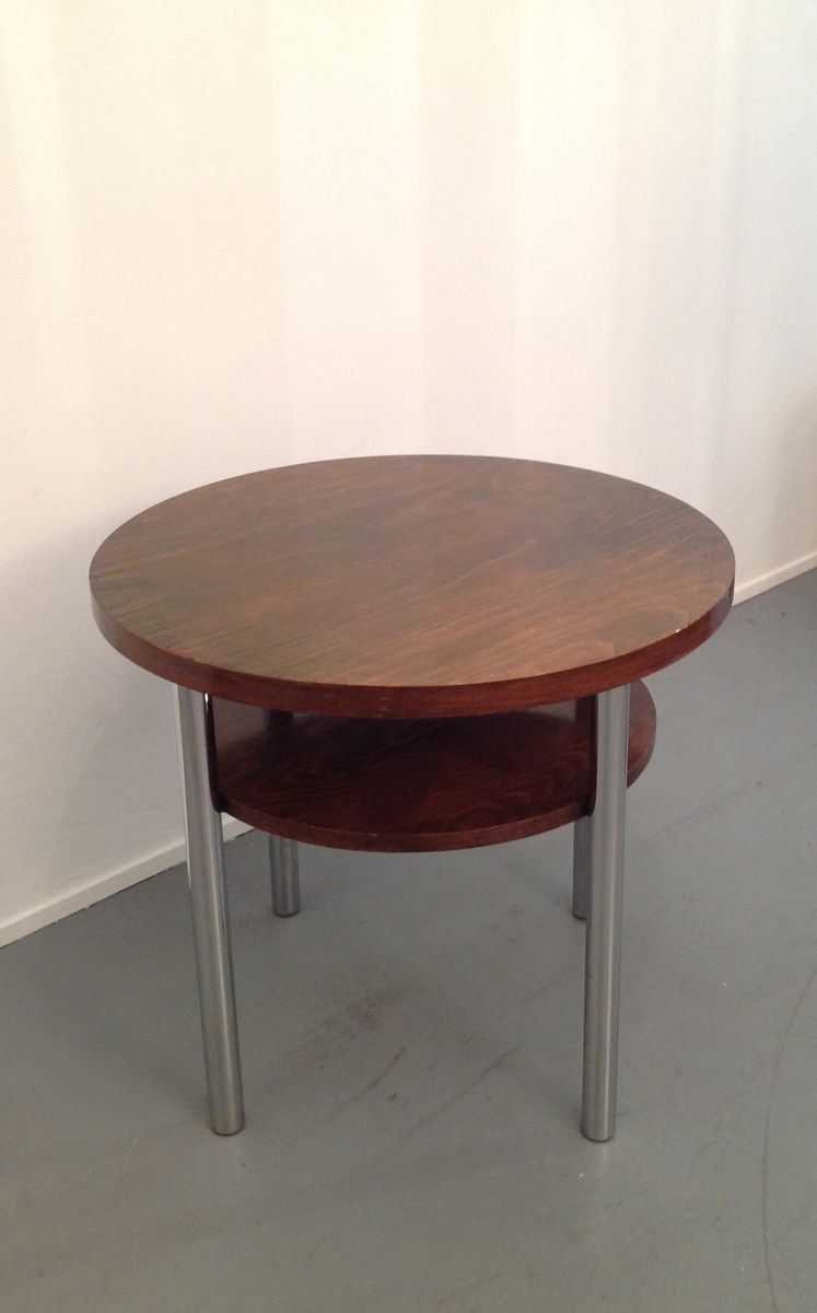 Bauhaus side table 1920s for sale at pamono for Table de nuit art deco