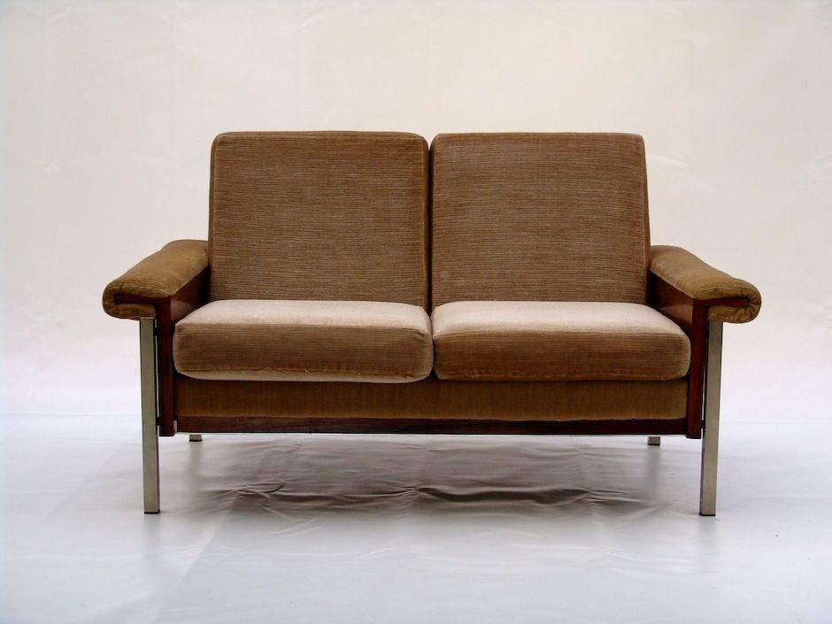 vintage 2 sitzer sofa bei pamono kaufen. Black Bedroom Furniture Sets. Home Design Ideas