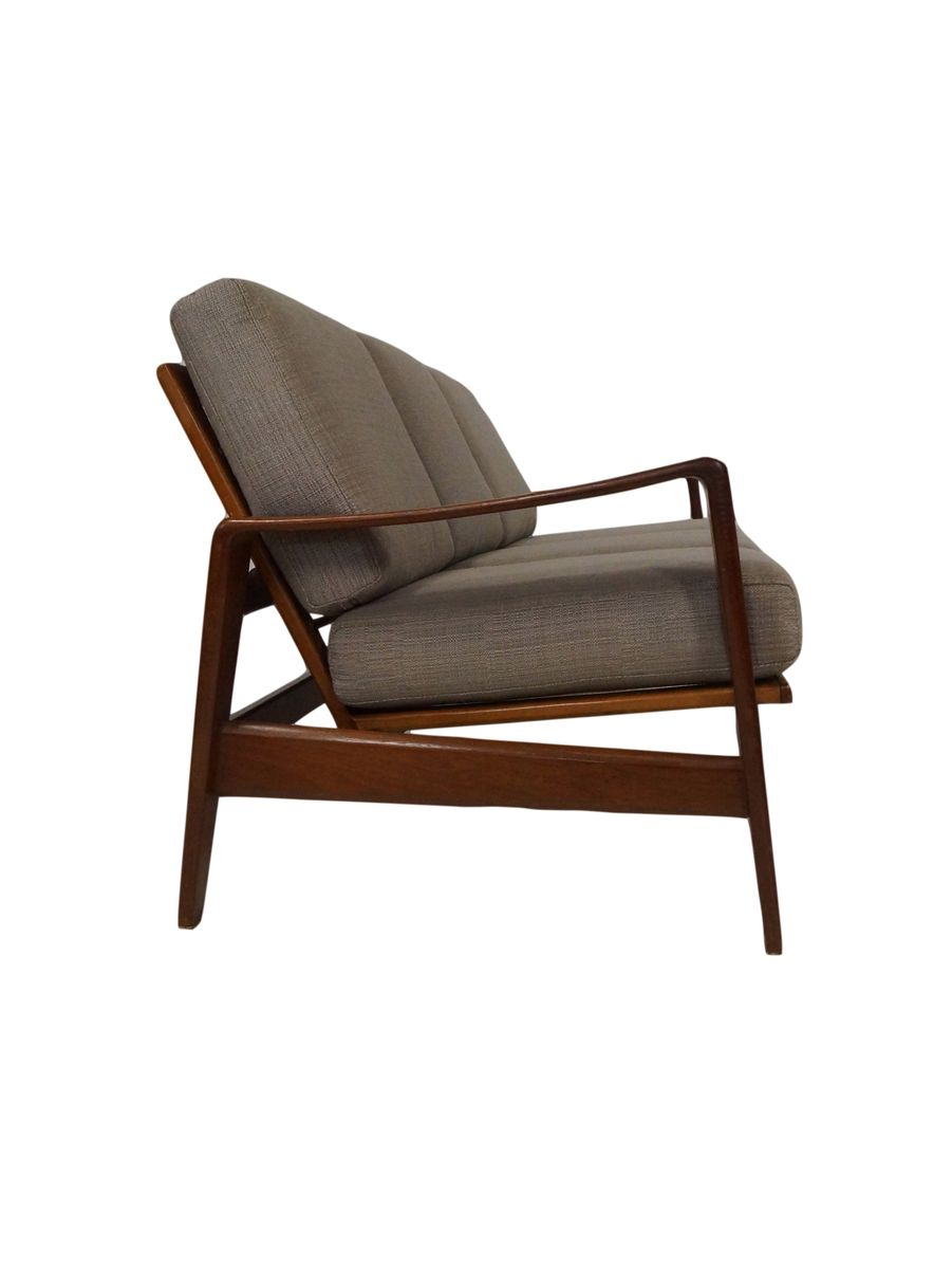 3 seater sofa by arne wahl iversen for komfort 1960s for sale at pamono Sofa bequem komfort