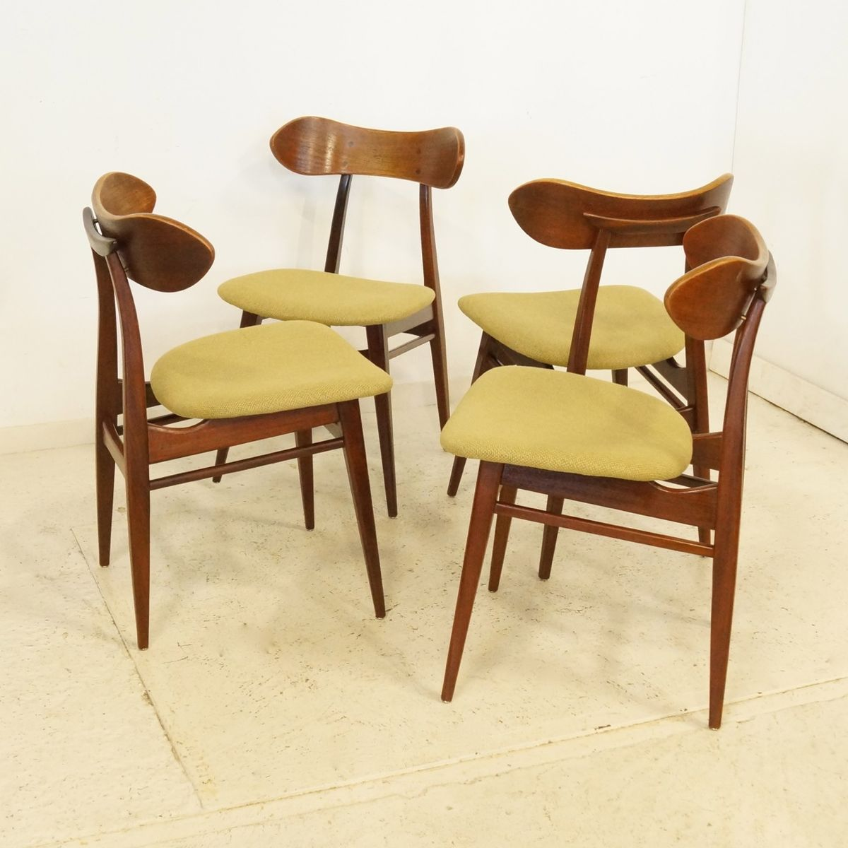 danish dining chairs set of 4 1960s for sale at pamono