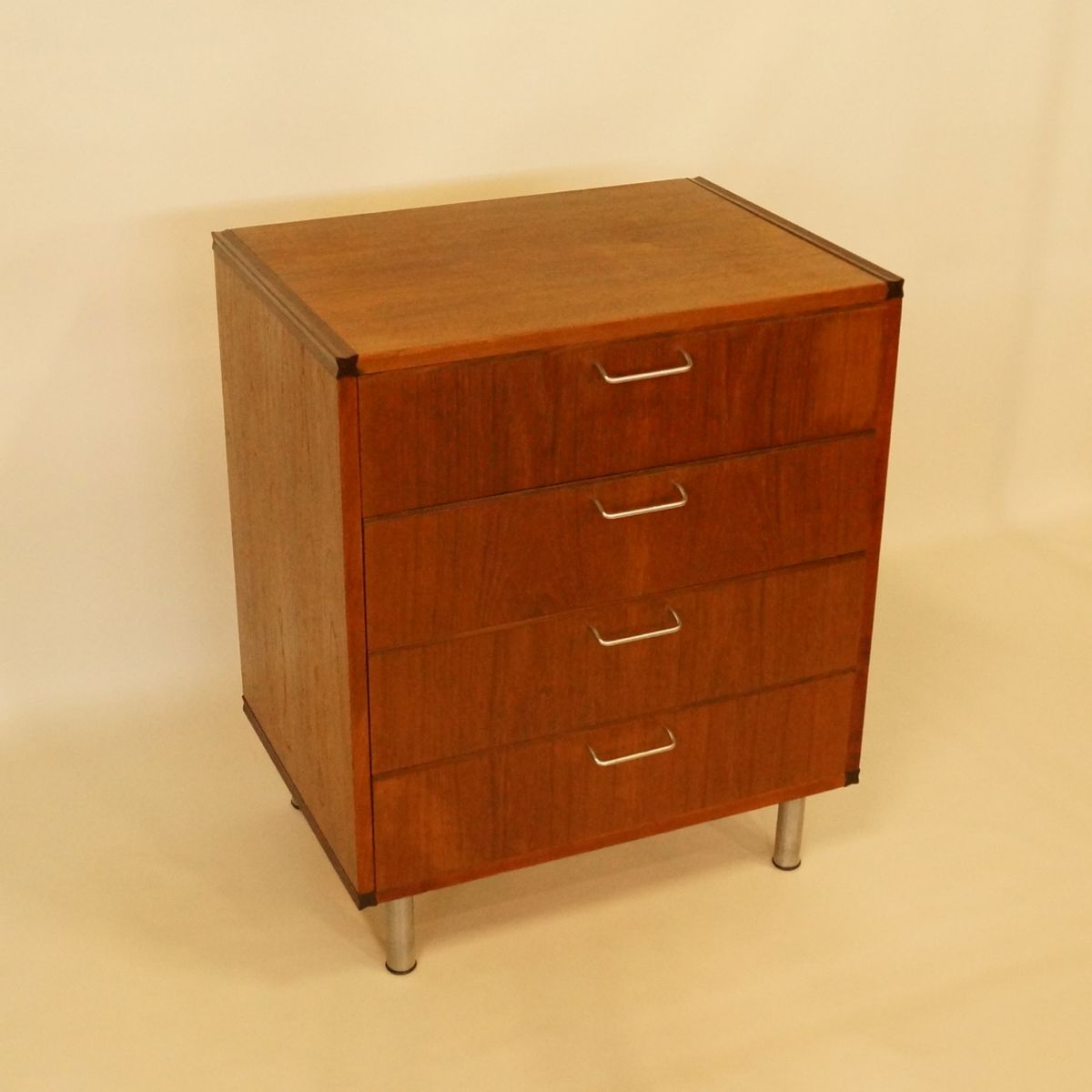 Teak Drawer Cabinet By Cees Braakman For Pastoe 1950s For Sale At Pamono