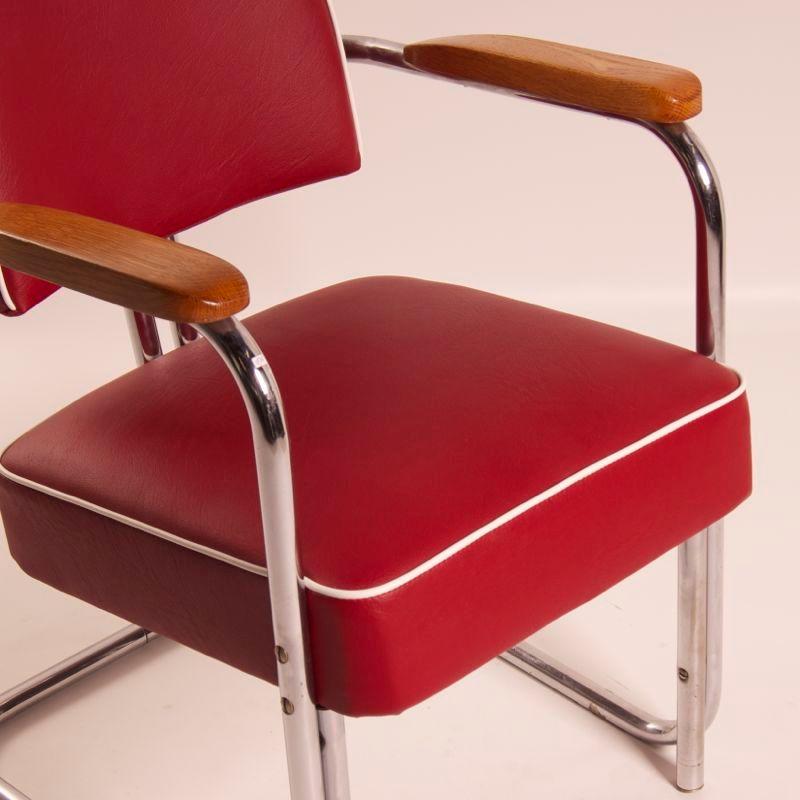 fauteuil bauhaus belgique 1930s en vente sur pamono. Black Bedroom Furniture Sets. Home Design Ideas