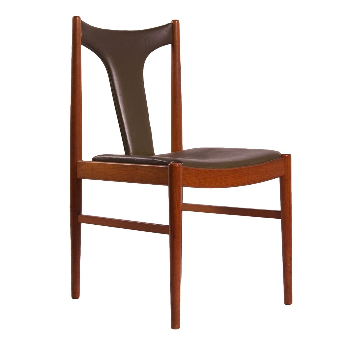 danish dining chair by arne vodder for sibast 1960s for sale at pamono. Black Bedroom Furniture Sets. Home Design Ideas