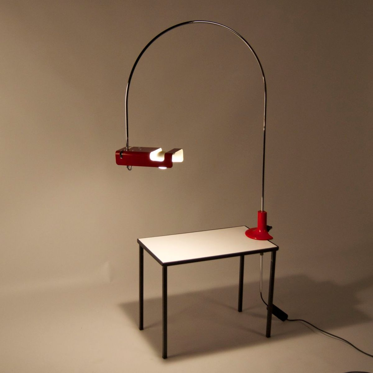 293 spider lamp by joe colombo for oluce 1966 for sale at pamono. Black Bedroom Furniture Sets. Home Design Ideas