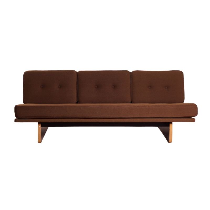 671 drei sitzer sofa von kho liang le f r artifort 1968 bei pamono kaufen. Black Bedroom Furniture Sets. Home Design Ideas